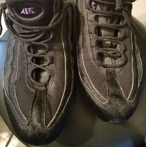Nike Shoes - Nike Men Air Max 95 Black and Purple